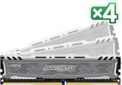Crucial Ballistix Sport 16GB (4x4GB) DDR4 2400MHz BLS4C4G4D240FSB