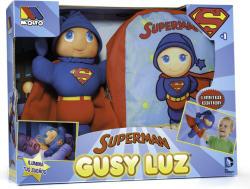 Molto Papusa Gusy Luz -Superman cu rucsac