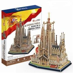 CubicFun 3D puzzle Sagrada Família 194 db-os (MC153H)