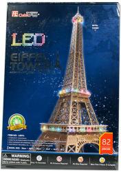 CubicFun 3D LED puzzle Eiffel-torony 86 db-os