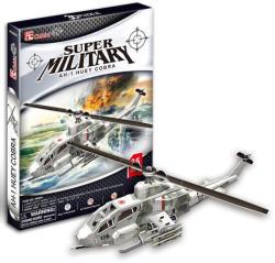 CubicFun Huey Cobra harci helikopter 3D puzzle 67 db-os (P603H)