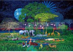 Clementoni Állatok a dzsungelben 2000 db-os