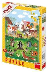 Dino XL Puzzle - Kisvakond a farmon 100 db-os (343313)