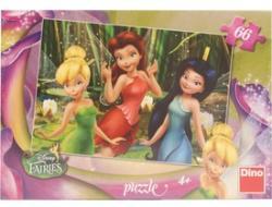 Dino Disney Fairies - Csingiling és barátai 66 db-os