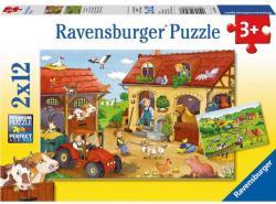 Ravensburger Tanyasi élet 2x12 db-os