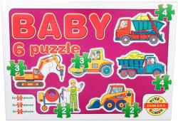 Dohány Baby Puzzle Munkagépek 6 az 1-ben (635/4)