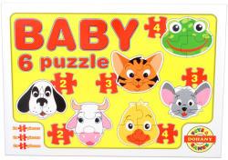 Dohány Baby Puzzle Háziállatok arca 6 az 1-ben (635/2)