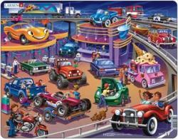 Larsen Maxi puzzle - Autók 58 db-os US19