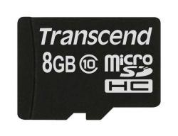 Transcend MicroSDHC 8GB Class 10 MLC TS8GUSDC10M