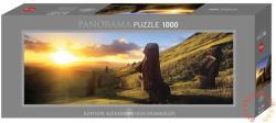 Heye Panoráma Puzzle - Húsvét-sziget (Edition Humboldt) 1000 db-os