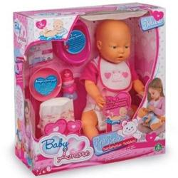 Giochi Preziosi Baby Amore Pipi Popo - Bebe fetita care face pipi cu accesorii (19350_fetita)