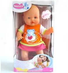 Nenuco Bebe fetita cu sunet in rochita portocaliu (nen_9011_p)