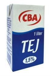 CBA Tartós tej 1,5% 1l
