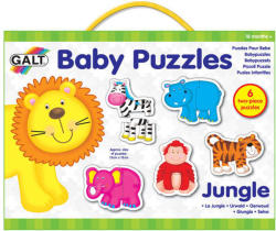 Galt Baby Puzzle - Dzsungel  6x2 db-os