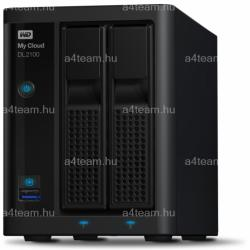 Western Digital My Cloud DL2100 4TB WDBBAZ0040JBK-EESN