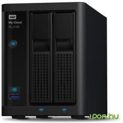 Western Digital My Cloud DL2100 8TB WDBBAZ0080JBK-EESN