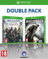 Ubisoft Double Pack: Assassin's Creed Unity + Watch Dogs (Xbox One)
