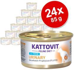 KATTOVIT Urinary Tuna Tin 24x85g