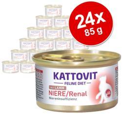KATTOVIT Niere/Renal Chicken Tin 24x85g