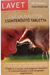 LAVET Csonterősítő tabletta macskák részére 50db