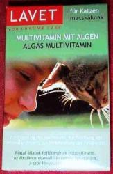 LAVET Algás multivitamin macskák részére 50db