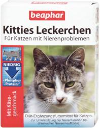 Beaphar Kitties vitaminos jutalomfalat 75db