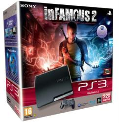 Sony PlayStation 3 320GB (PS3 320GB) + Infamous 2