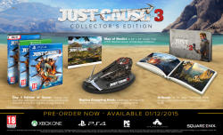 Square Enix Just Cause 3 [Collector's Edition] (PS4)
