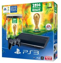 Sony PlayStation 3 Super Slim 12GB (PS3 Super Slim 12GB) + 2014 FIFA World Cup Brazil