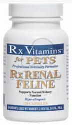 Rx Vitamins Renal Feline tabletta 120db