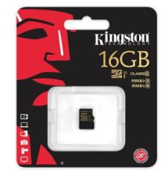 Kingston MicroSDHC 16GB Class 10 SDCA10/16GBSP