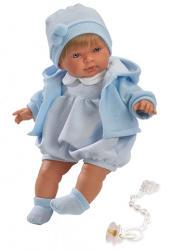 Llorens Alvaro síró fiú baba - 42 cm