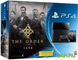 Sony PlayStation 4 Jet Black 500GB (PS4 500GB) + The Order 1886