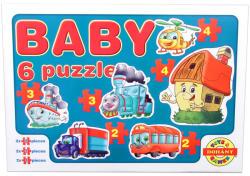 Dohány Baby Puzzle 6 az 1-ben - Járművek 2 (635/3)