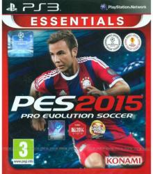 Konami PES 2015 Pro Evolution Soccer [Essentials] (PS3)