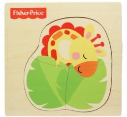 Vivid Fisher-Price Fa puzzle - Zsiráf