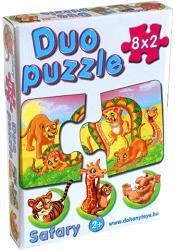 Dohány Duo Puzzle - Szafari állatok