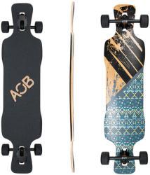 Area One Boards Longboard Asym Flower 39