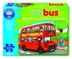 Orchard Toys Kétoldalas puzzle - Emeletes busz (301)