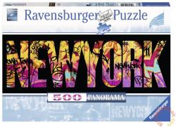 Ravensburger Panoráma puzzle - New York graffiti 500 db-os (14650)