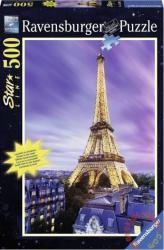 Ravensburger Eiffel-torony Párizs 500 db-os foszforeszkáló puzzle (14898)