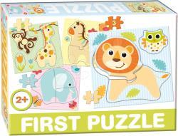 Dohány First Puzzle 4 az 1-ben - Szafari (639-6)