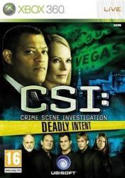 Ubisoft CSI: Crime Scene Investigation Deadly Intent (Xbox 360)