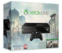 Microsoft Xbox One 500GB + Assassin's Creed Unity + Black Flag