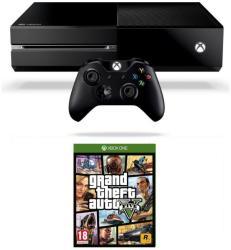 Microsoft Xbox One 500GB + Grand Theft Auto V (GTA 5)