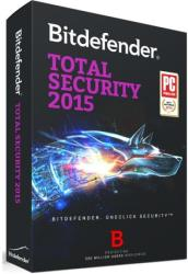 Bitdefender Total Security 2015 (3 PC, 1 Year) TL11051003