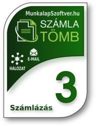 MunkalapSzoftver. hu SzámlaTömb 3 Számlázó Szoftver - Több Gépes