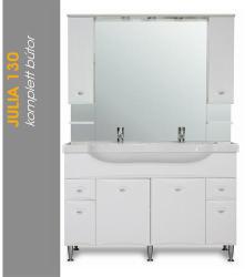 Vertex Julia 130 komplett fürdőszobabútor J130