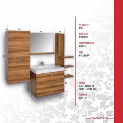 Vertex MINIMAL DESIGN 90 Galatea bútor összeállítás M90_GALATEA