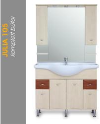 Vertex Julia 105 komplett fürdőszoba bútor (J105)